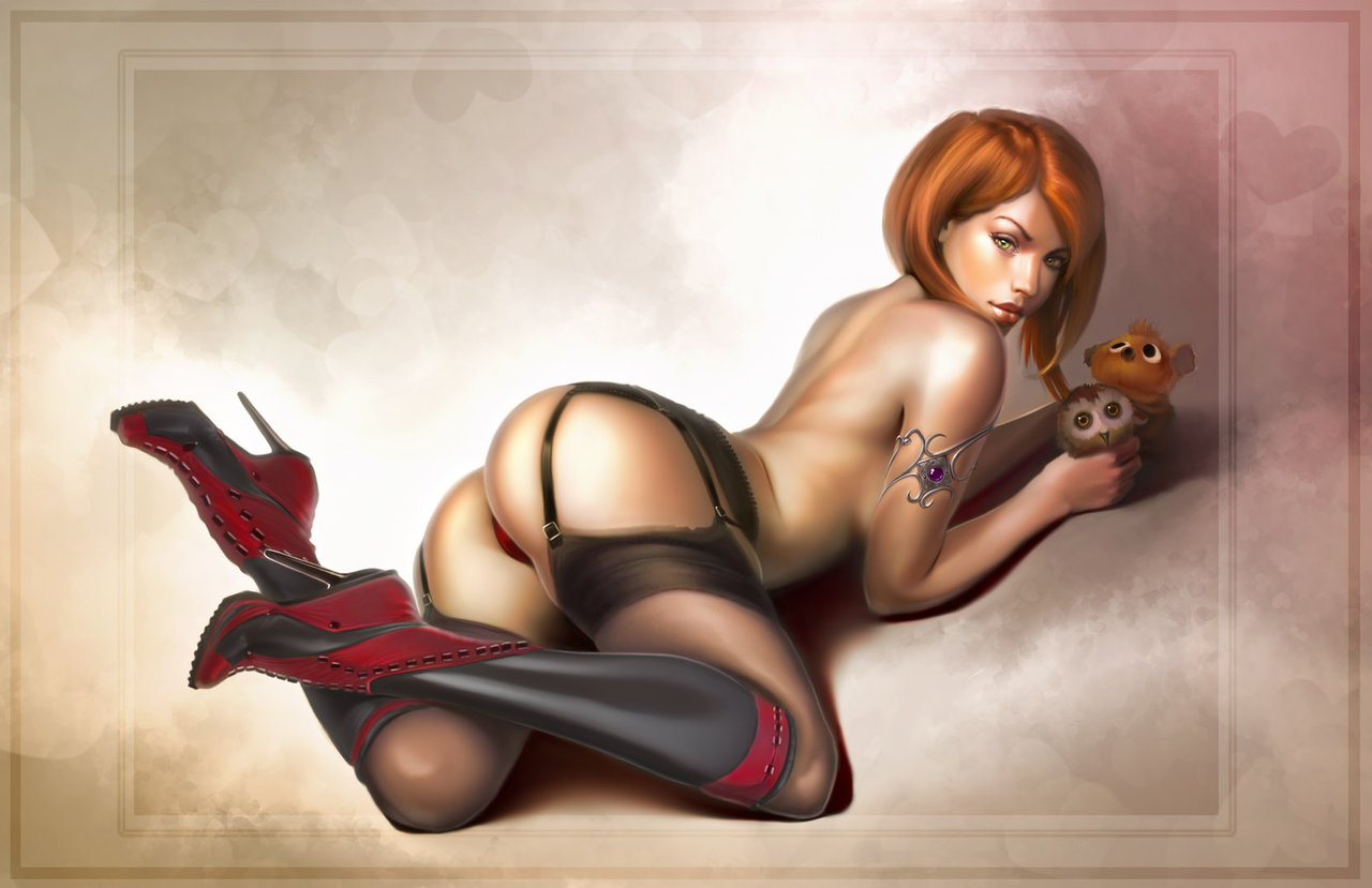 Рисованные эротика 3д полы