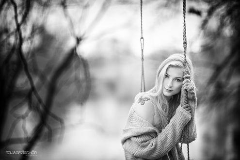 Фото Девушка на качели, by tausendschоn photographieeln
