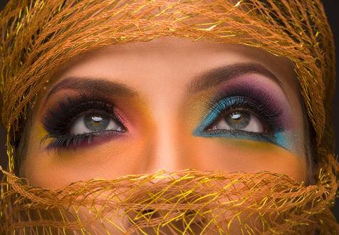 Фото Девушка с красивым макияжем, by CarlosMMF
