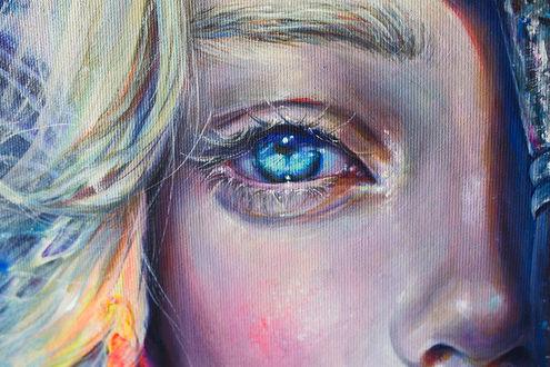 Фото Девушка с голубыми глазами, by TanyaShatseva ntArt