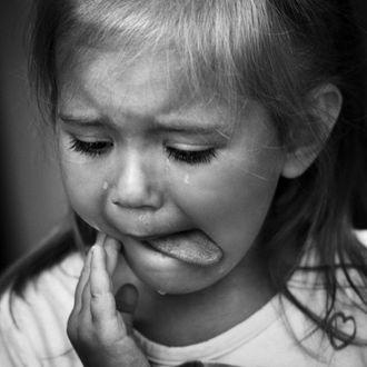 Фото Плачущая девочка со слезами на лице, фотограф Игорь Смольников