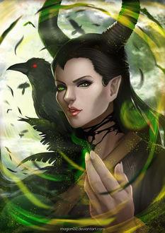 Фото Малефисента / Maleficent из одноименного фильма, by magion02