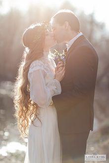 Фото Мужчина с девушкой целуются, фотограф Елена Жунь