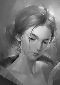 Фото Портрет милой девушки, by Zudartslee