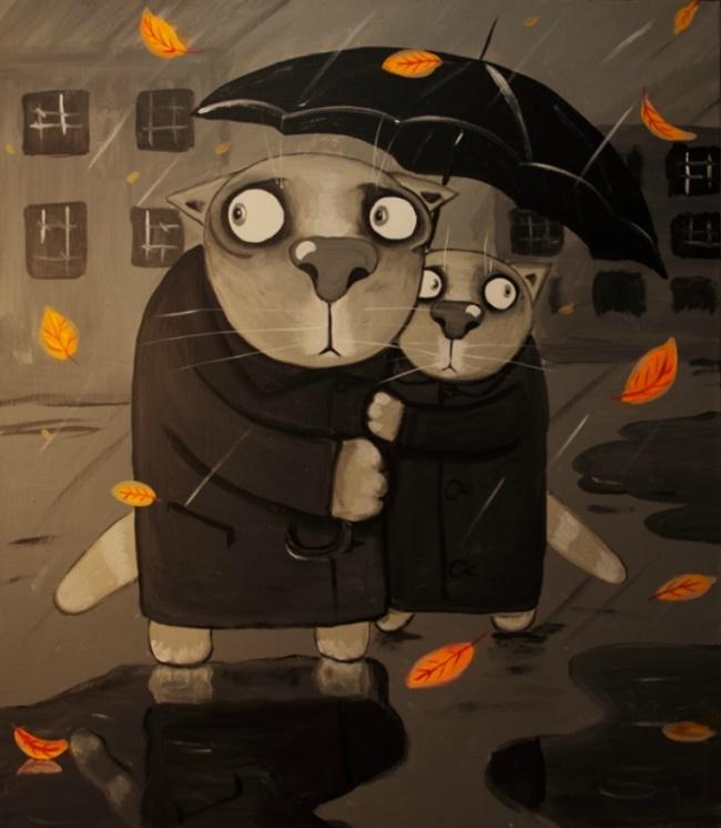 Картинки про котов васи ложкина, поздравлениями летием