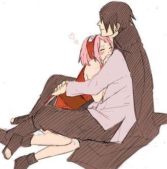 ���� ����� ����� / Sasuke Uchiha � ������ ������ / Sakura Haruno