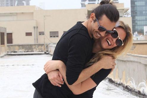 Фото Израильская топ-модель Bar Refaeli с парнем