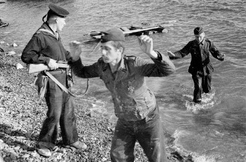 Фото Захват в плен немецких военнослужащих