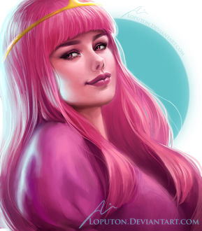 ���� Princess Bubblegum / ��������� �������� �� ������������ Adventure Time / ����� �����������, by Loputon