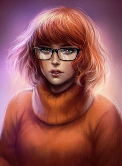 ���� Velma Dinkley / ����� ������ �� �������� Scooby-Doo! / �����-��, by Loputon