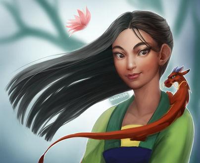 Фото Мулан / Mulan из одноименного мультфильма, by Nilfea
