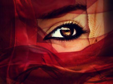 Фото Девушка в хиджабе, by Desert-Winds