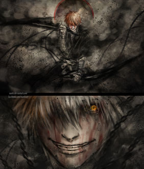 Фото Ichigo Kurosaki / Ичиго Куросаки из аниме Bleach / Блич, by NanFe