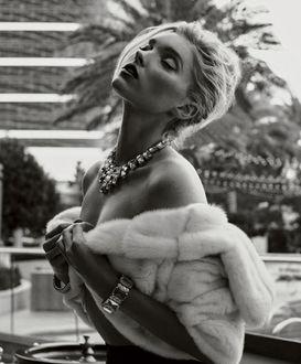 Фото Фотосессия модели Elsa Hosk / Эльзы Хоск для журнала MAXIM, февраль 2016