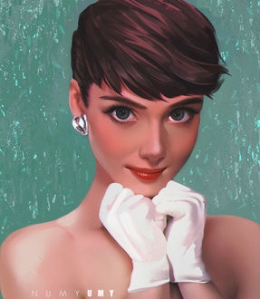 ���� Audrey Hepburn / ���� �������, by NUMYUMY