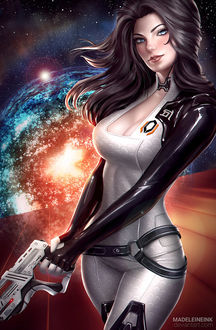 ���� ������� ������ / Miranda Lawson � ���-������������ � ����, ��� � ���� Mass Effect, by MadeleineInk