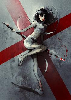 Фото Медсестра с окровавленным скальпелем, by 夢乃ゆめ