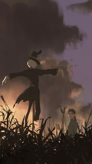 ���� Sophie Hatter / ���� ������ � Turnip Head / ������-����� �� ����� Howls Moving Castle / ������� ����� �����, by snatti