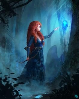 Фото Принцесса Мерида / Merida из мультфильма Храбрая сердцем / Brave, by FlorentLlamas