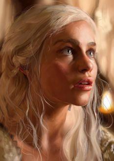 ���� ��������� ��������� / Daenerys Targaryen �� ������� ���� ��������� / Game of Thrones, by Razor-Sensei