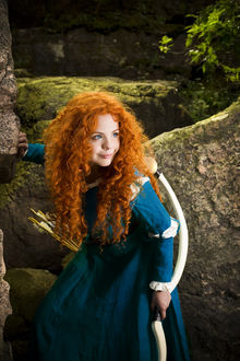 ���� ������� ��������� ������ / Merida �� ����������� ������� ������� / Brave, by Fenyachan