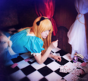 ���� ������� Alice Liddell / ����� ������� �� ������ ����� � ������ ����� / Alice in Wonderland, by Kawaielli