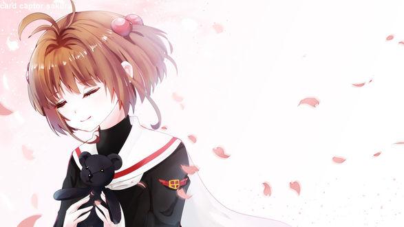 ���� ������ �������� / Sakura Kinomoto �� ����� ������ - �������������� ���� / Card captor sakura, by Avaloki
