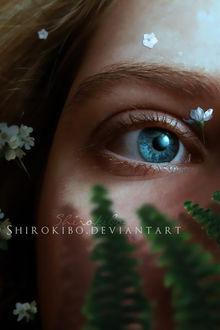 Фото Девушка с голубыми глазами, by Shirokibo