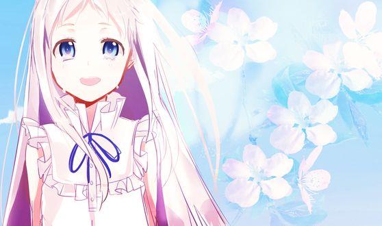 Фото Мэйко Хомма / Meiko Honma из аниме Невиданный цветок / Ano Hi Mita Hana no Namae wo Bokutachi wa Mada Shiranai
