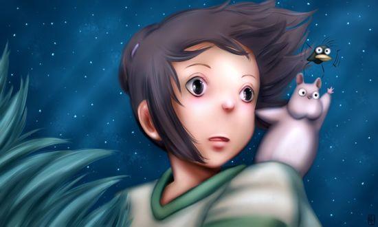 ���� ������ ����� / Chihiro Ogino �� ����� ��������� ���������� / Sen to Chihiro no kamikakushi, by Slenderhand