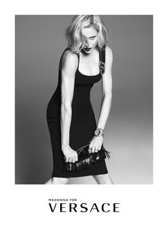 Фото Американская певица Madonna / Мадонна For Versace / для Версаче