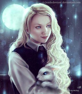 ���� Luna Lovegood / ������� ������ �� ������ Harry Potter / ����� ������, ������ �� ����� �������, by RaideDeviant