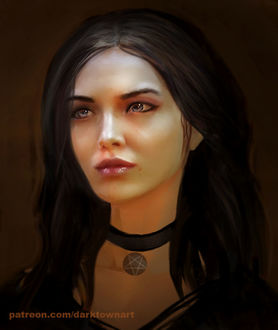 ���� Yennefer of Vengerberg / ������� �� ����������� �� ��� The Witcher / �������, by ZombieSandwich