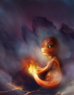 ���� Charmander / ��������� �� ����� Pokemon / ������� ����� � ������� �������, by WeijiC