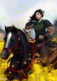 ���� �������� ����������� ����� / Mulan / ������� �����, ���������� � ������� ������ �����, by Medev Taob