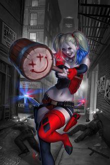 ���� Harley Quinn / ����� �����, by WarrenLouw