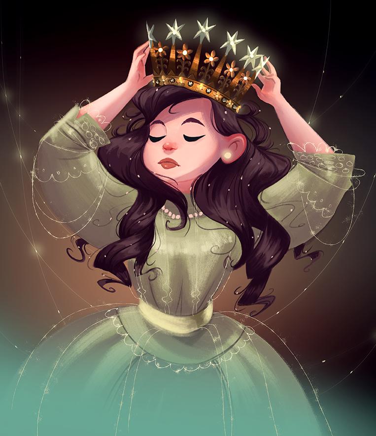 Картинки с коронами девушки