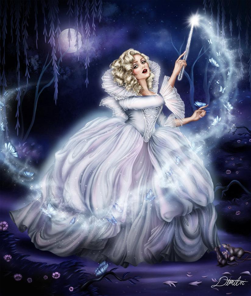 добрались картинки с феями и волшебницами приходом современной цивилизации