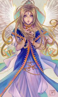 Фото Богиня Верданди / Belldandy из аниме Моя богиня / Aa! Megami-sama, by shuu-washuu