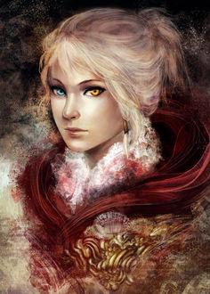Фото Девушка с глазами разного цвета, by kureo95