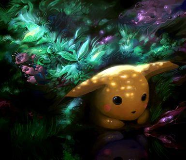 Фото Пикачу / Pikachu из аниме Покемон / Pokemon, by Sekkosiki