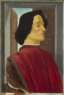 Фото Портрет Джулиано Медичи, художник Сандро Боттичелли