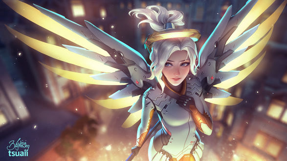 ���� Mercy / ����� / ������ ������ �� ���� Overwatch / �����, by Zolaida