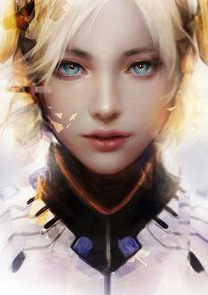 ���� Mercy / ����� / ������ ������ �� ���� Overwatch / �����, by muju