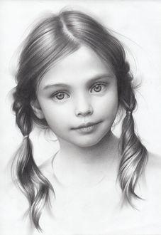 Фото Портрет милой девочки, художник Andrey Belichenko
