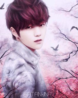 Фото Южнокорейский актер, вокалист и лицо группы INFINITE - Ким Мен Су | L / Kim Myung Soo, by satan-jnr