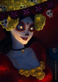 ���� La Muerte / �� ������ �� ����������� The book of life / ����� �����, by sscindyss