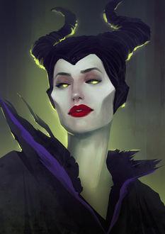 Фото Малефисента / Maleficent из одноименного фильма, by sscindyss