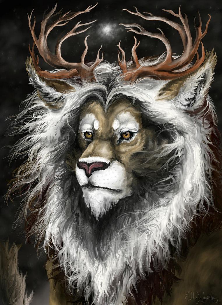 режиссеров, лев с рогами картинка основные