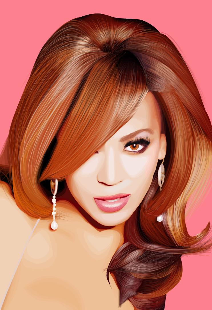 Девушка с рыжими волосами картинка
